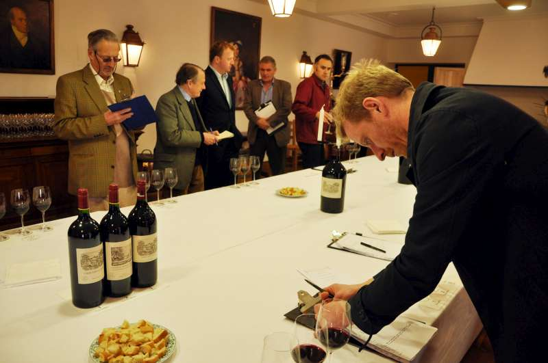 Eyes down at Lafite