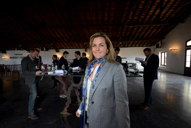 Melanie Tesseron shows us the 2012 Pontet Canet