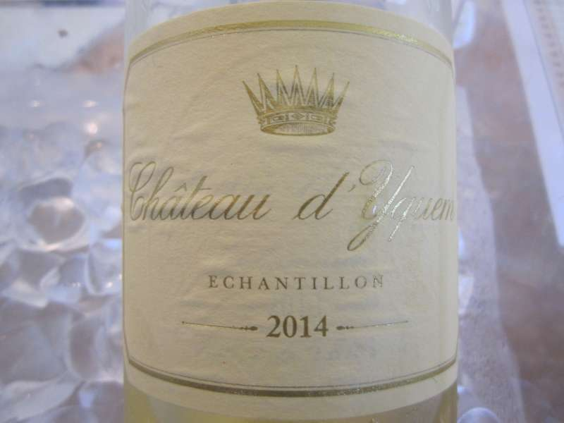 2014 Chateau d'Yquem, which will not be released en Primeur