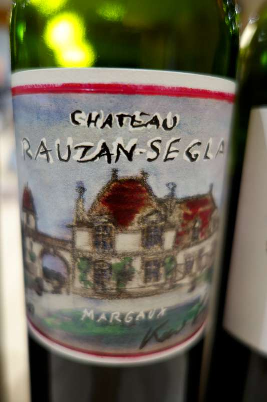 Another taste of Rauzan Segla 2009 with Karl Largerfeld designed label