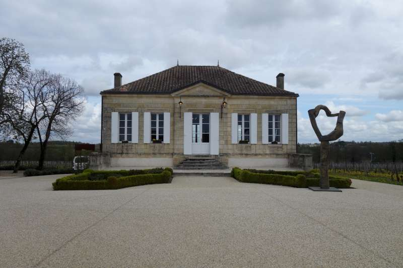 Chateau le Gay, where we also tasted the stunning La Violette