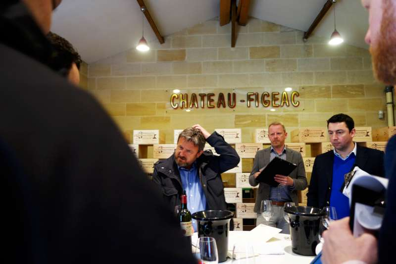 Stephen Browett trying to get his head round how Chateau Figeac keep producing wines of this quality
